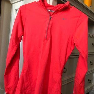 Nike bright pink sweater